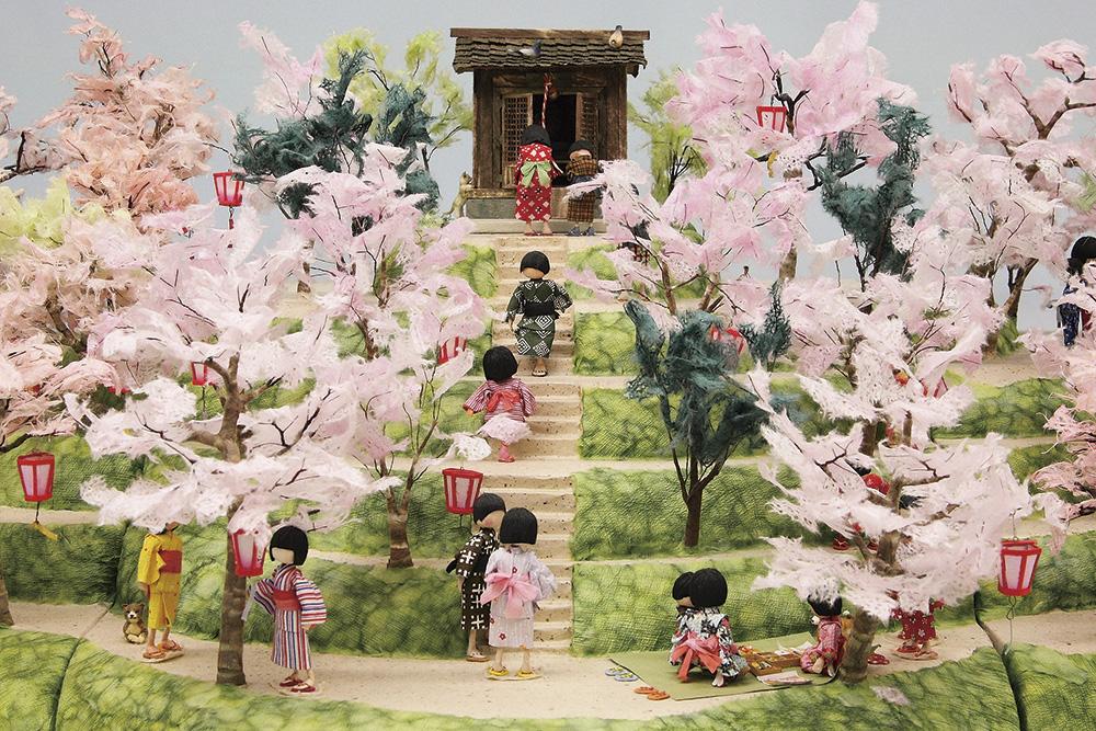 紙わらべ・春の写真