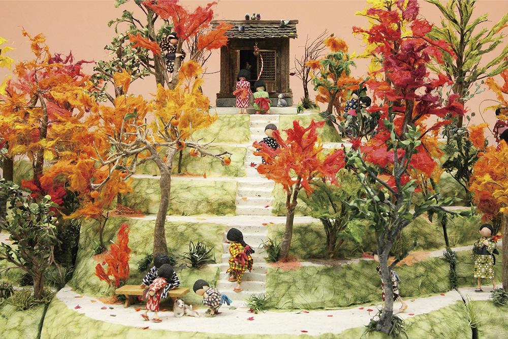 紙わらべ・秋の写真